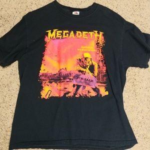 """Megadeth """"Peace Sells"""" Tee"""